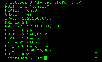 ifcfg-mgmt0 configuration